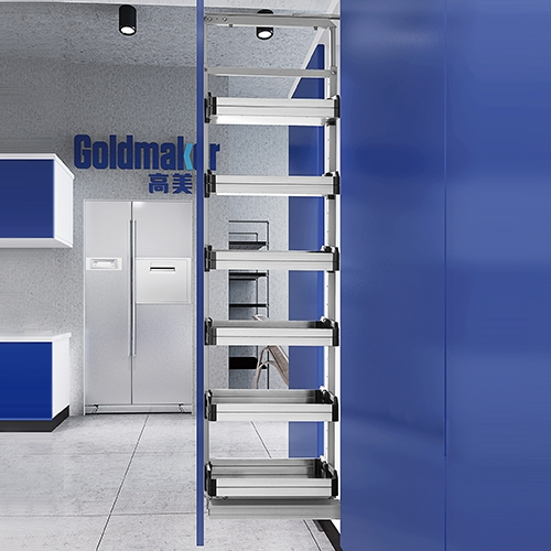 Damping high-deep pull basket 300 cabinets
