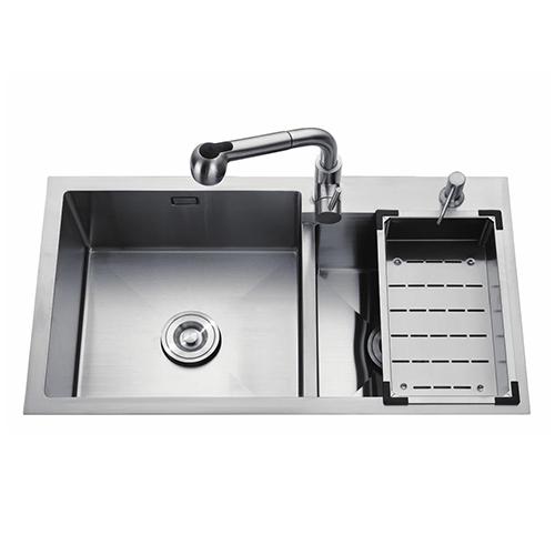 Stainless steel manual sink